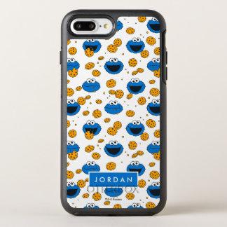 Capa Para iPhone 8 Plus/7 Plus OtterBox Symmetry O monstro do biscoito | C é para o teste padrão do