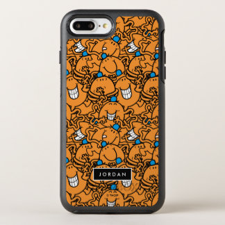 Capa Para iPhone 8 Plus/7 Plus OtterBox Symmetry O teste padrão alaranjado | das cócegas do Sr.