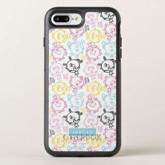 Capa Para iPhone 8 Plus/7 Plus OtterBox Symmetry O teste padrão bonito | dos Pastels adiciona seu