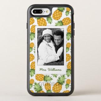 Capa Para iPhone 8 Plus/7 Plus OtterBox Symmetry O teste padrão | do abacaxi adiciona sua foto
