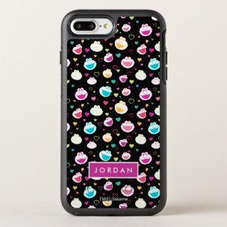 Capa Para iPhone 8 Plus/7 Plus OtterBox Symmetry O teste padrão doce | do coração do material