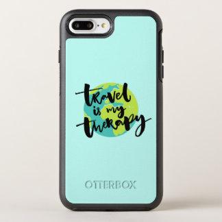 Capa Para iPhone 8 Plus/7 Plus OtterBox Symmetry O viagem é minha terapia