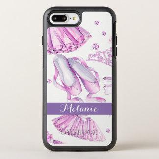 Capa Para iPhone 8 Plus/7 Plus OtterBox Symmetry Obrigado que da aguarela da dança do balé você