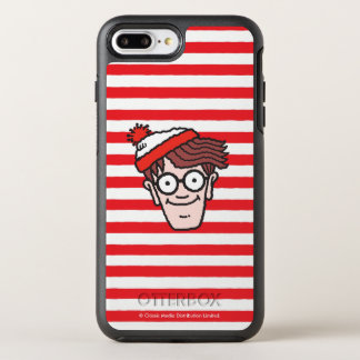 Capa Para iPhone 8 Plus/7 Plus OtterBox Symmetry Onde está Waldo enfrente
