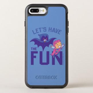 "Capa Para iPhone 8 Plus/7 Plus OtterBox Symmetry Os titã adolescentes vão! | Starfire & corvo ""têm"