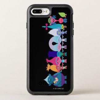 Capa Para iPhone 8 Plus/7 Plus OtterBox Symmetry Os troll | abraçam tudo ao redor