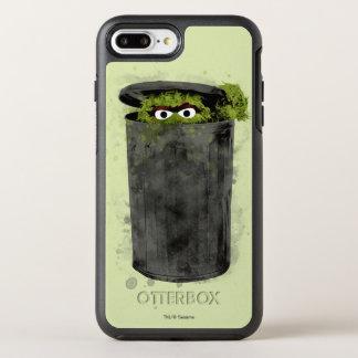 Capa Para iPhone 8 Plus/7 Plus OtterBox Symmetry Oscar a tendência da aguarela do Grouch |