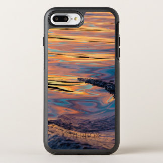 Capa Para iPhone 8 Plus/7 Plus OtterBox Symmetry Padrões do por do sol refletido no acordar do