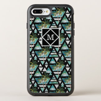 Capa Para iPhone 8 Plus/7 Plus OtterBox Symmetry Palmas & teste padrão de ondas geométricos