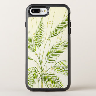 Capa Para iPhone 8 Plus/7 Plus OtterBox Symmetry Palmeiras na capa de telefone de bambu da floresta