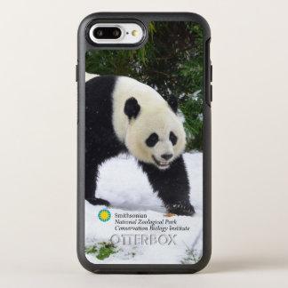 Capa Para iPhone 8 Plus/7 Plus OtterBox Symmetry Pandas gigantes de Smithsonian | na neve