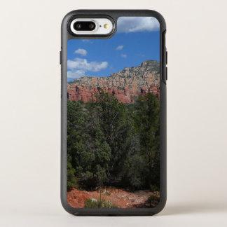 Capa Para iPhone 8 Plus/7 Plus OtterBox Symmetry Panorama de rochas vermelhas na arizona de Sedona