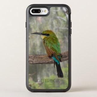 Capa Para iPhone 8 Plus/7 Plus OtterBox Symmetry Pássaro do abelha-comedor do arco-íris, Austrália