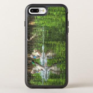 Capa Para iPhone 8 Plus/7 Plus OtterBox Symmetry Patos que aterram o iPhone Otterbox