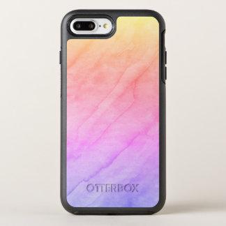 Capa Para iPhone 8 Plus/7 Plus OtterBox Symmetry Pedra da aguarela de Shell da madrepérola