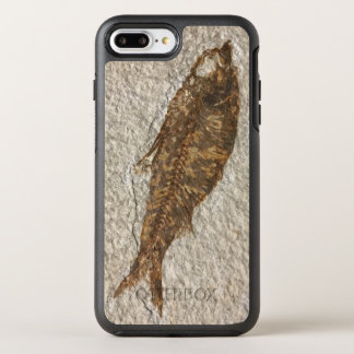 Capa Para iPhone 8 Plus/7 Plus OtterBox Symmetry Peixes fósseis em um exemplo positivo de Iphone 7