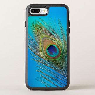 Capa Para iPhone 8 Plus/7 Plus OtterBox Symmetry Pena de cauda do pavão