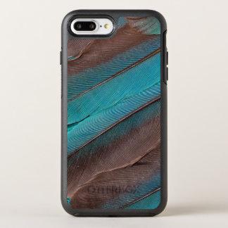 Capa Para iPhone 8 Plus/7 Plus OtterBox Symmetry Penas da asa do martinho pescatore