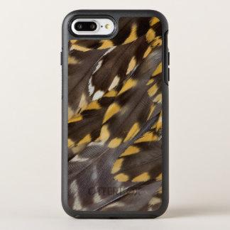 Capa Para iPhone 8 Plus/7 Plus OtterBox Symmetry Penas da tarambola dourada