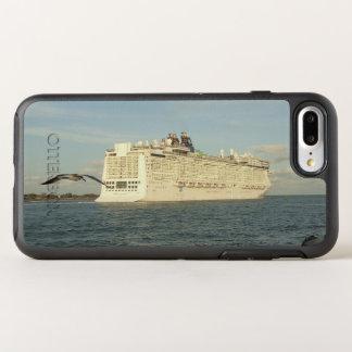 Capa Para iPhone 8 Plus/7 Plus OtterBox Symmetry Perseguição épico - gaivota e navio de cruzeiros