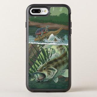 Capa Para iPhone 8 Plus/7 Plus OtterBox Symmetry Pesca da perda Largemouth