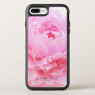 Capa Para iPhone 8 Plus/7 Plus OtterBox Symmetry pétalas cor-de-rosa