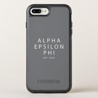 Capa Para iPhone 8 Plus/7 Plus OtterBox Symmetry Phi alfa | Est do épsilon. 1909