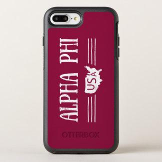 Capa Para iPhone 8 Plus/7 Plus OtterBox Symmetry Phi alfa EUA