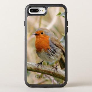 Capa Para iPhone 8 Plus/7 Plus OtterBox Symmetry Pisco de peito vermelho impressionante
