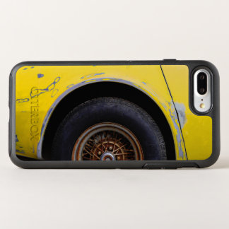 Capa Para iPhone 8 Plus/7 Plus OtterBox Symmetry Pneu oxidado, descascando o carro pintado amarelo