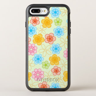 Capa Para iPhone 8 Plus/7 Plus OtterBox Symmetry Poder flower power da menina