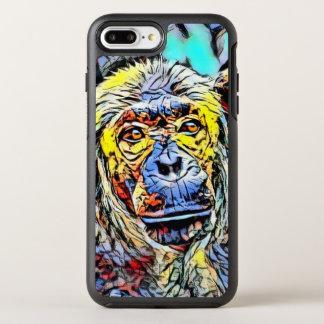 Capa Para iPhone 8 Plus/7 Plus OtterBox Symmetry Pontapé da cor - chimpanzé