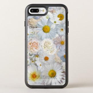 Capa Para iPhone 8 Plus/7 Plus OtterBox Symmetry Primavera nupcial do casamento floral do buquê das