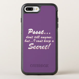Capa Para iPhone 8 Plus/7 Plus OtterBox Symmetry Pssst… eu não posso manter um SECRETO (branco)