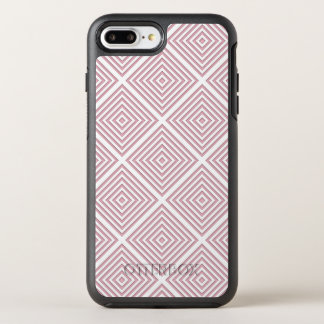 Capa Para iPhone 8 Plus/7 Plus OtterBox Symmetry Quadrados geométricos cor-de-rosa