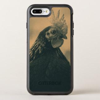 Capa Para iPhone 8 Plus/7 Plus OtterBox Symmetry Retrato do galo