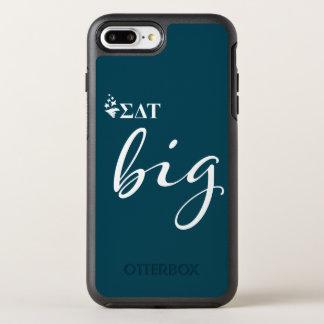 Capa Para iPhone 8 Plus/7 Plus OtterBox Symmetry Roteiro grande da tau | do delta do Sigma