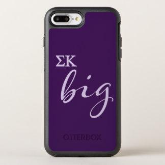 Capa Para iPhone 8 Plus/7 Plus OtterBox Symmetry Roteiro grande do Kappa do Sigma