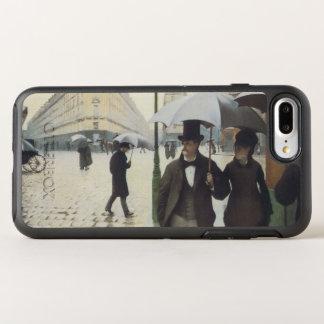 Capa Para iPhone 8 Plus/7 Plus OtterBox Symmetry Rua de Paris, dia chuvoso