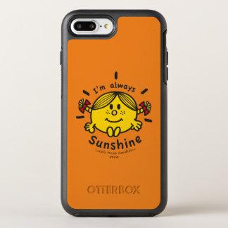 Capa Para iPhone 8 Plus/7 Plus OtterBox Symmetry Senhorita pequena Luz do sol | eu sou sempre luz