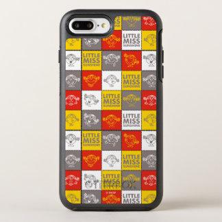 Capa Para iPhone 8 Plus/7 Plus OtterBox Symmetry Senhorita pequena Luz do sol teste padrão vermelho