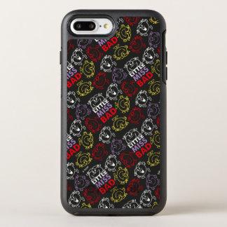 Capa Para iPhone 8 Plus/7 Plus OtterBox Symmetry Senhorita pequena Mau teste padrão preto, vermelho
