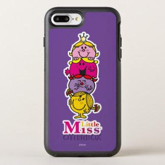 Capa Para iPhone 8 Plus/7 Plus OtterBox Symmetry Senhorita pequena pequena Standing Alto da