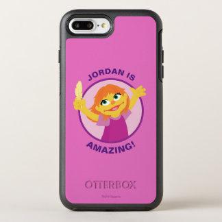 Capa Para iPhone 8 Plus/7 Plus OtterBox Symmetry Sesame Street | Julia que guardara a pena