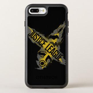 Capa Para iPhone 8 Plus/7 Plus OtterBox Symmetry Símbolos da liga & da equipe de justiça da liga de