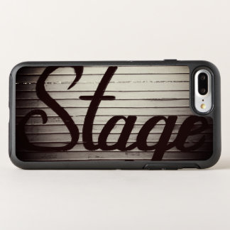 "Capa Para iPhone 8 Plus/7 Plus OtterBox Symmetry Sinal do vintage do ""palco"""