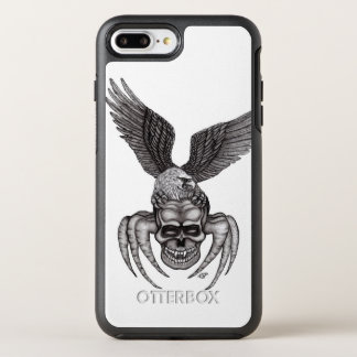 Capa Para iPhone 8 Plus/7 Plus OtterBox Symmetry Spiderskull com Eagle