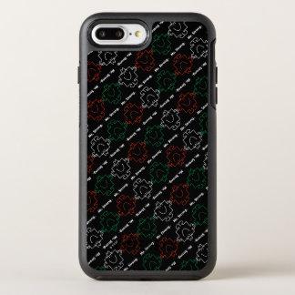 Capa Para iPhone 8 Plus/7 Plus OtterBox Symmetry Sr. Forte teste padrão vermelho, branco & verde de
