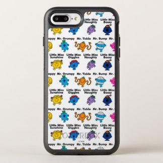 Capa Para iPhone 8 Plus/7 Plus OtterBox Symmetry Sr. Homem & nomes pequenos do caráter da senhorita