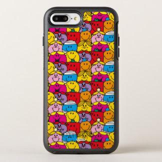 Capa Para iPhone 8 Plus/7 Plus OtterBox Symmetry Sr. Homem & senhorita pequena | em um teste padrão